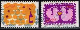 Schweden 2010, Michel# 2746 + 2748 O     Greetings - Used Stamps