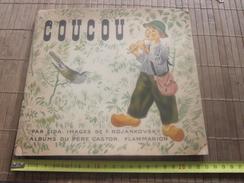 1939 COUCOU Livre Pour Enfant Album Du Père Castor Par LIDA IMAGES Illustrations De F. ROJAKOVSKY Flammarion Lire,voir - Livres, BD, Revues