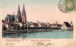 1905 CARTOLINA Regensburg - Regensburg