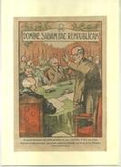 DOMINE SALVAM FAC REMPUBLICAM . REPRO DEBUT XXeS. DECOUPEE ET COLLEE SUR PAPIER . - Religion & Esotérisme