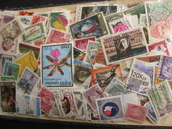 WW Colossal Mixture (duplicates, Mixed Condition) About 1000 Stamps 33% Commemoratives, 67% Definitives - Timbres
