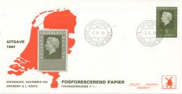 Nederland - Molenreeks/W-enveloppe - Koningin Juliana Regina - W40/952b - Philato - FDC