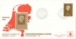Nederland - Molenreeks/W-enveloppe - Koningin Juliana Regina - W41/954b - Philato - FDC