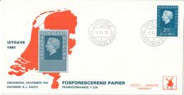 Nederland - Molenreeks/W-enveloppe - Koningin Juliana Regina - W43/956b - Philato - FDC