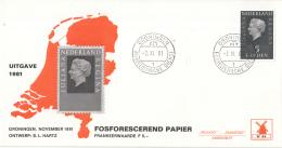 Nederland - Molenreeks/W-enveloppe - Koningin Juliana Regina - W44/957b - Philato - FDC
