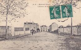 49 MONTREUIL BELLAY. CPA . AVENUE DE LA GARE. ANNÉE 1910 - Montreuil Bellay