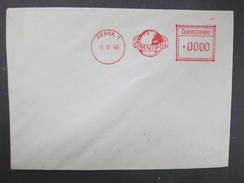 BRIEF Praha 1 Omnipol 1948 Frankotype Freistempel Postfreistempel  /// O5828 - Briefe U. Dokumente