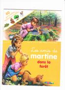 LES AMIS DE MARTINE SANS LA FORÊT , Avec 40 Gommettes Repositionnées, Gilbert DELAHAYE, Marcel MARLIER, Ed. Casterman - Books, Magazines, Comics