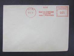 BRIEF Praha 2 Sklady Fondu 1947 Frankotype Freistempel Postfreistempel  /// O5820 - Briefe U. Dokumente
