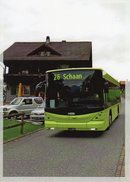 Postauto, Car Postal, Autobus, Bus; Planken FL; Scania Hess; Seltene Karte, Nur 10 Ex. - Liechtenstein