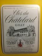 3713 - Suisse Vaud  Clos Du Châtelard  Dorin Gilly - Etiquettes