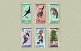 Hungary 1966. Animals / Birds Complete Set MNH (**) Michel: 2231-2236 / 5.50 EUR - Hungary