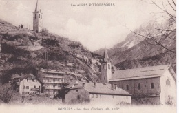 Postcard Jausiers In France With Censormarking From Depot De P.G. De Jausiers - Card Marked Förster   (T12-25) - Militaria
