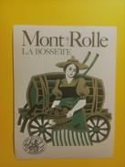 3729- Suisse Vaud La Bossette Mont-sur-Rolle - Etiquettes