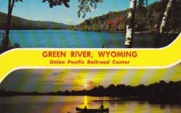 Wyoming Green River Union Pacific Railroad Center - Green River