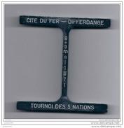 DIFFERDANGE ..-- ARBED ..-- Tournoi Des 5 Nations . 8 Et 9 Mai 1971 .  241 Grammes !! - Differdange