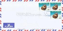 Papua New Guinea 2002 Boroko Sea Shell Turbo Petholatus Cover - Papoea-Nieuw-Guinea