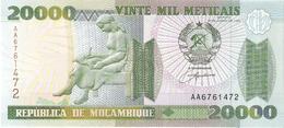 Mozambique - Pick 140 - 20.000 (20000) Meticais 1999 - Unc - Mozambico