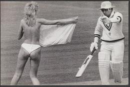 United Kingdom / Cricket / Gavaskar Shocked At Lord's Streaker - Cricket