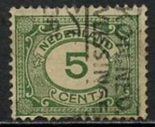 Pays Bas - Netherlands - Niederlande 1921 Y&T N°103 - Michel N°107 (o) - 5c Allégorie - 1891-1948 (Wilhelmine)