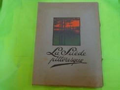 La Suede Pittoresque -1910-justus Cederquist Stockholm -tres Belles Photos Noir Et Blanc - Books, Magazines, Comics