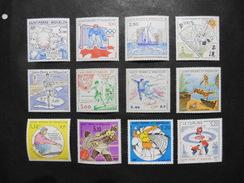 St.Pierre Et Miquelon :12 Timbres Neufs - Collections, Lots & Séries