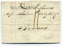 Département Conquis / 119 ROTTERDAM / Dept BOUCHES DE LA MEUSE /  Juillet 1811 - 1801-1848: Vorläufer XIX