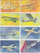 ITALY - Set Of 8 Cards, From The Wings To The Moon, Visual Flight Achievements, Tirage 90000, Exp.date 30/06/00, Mint - Italy