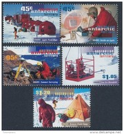 A.A.T. AUSTRALIAN ANTARCTIC TERRITORY 1997 A.N.A.R.E. S.G. 117-121 Set Of 5 [MNH] - Unused Stamps