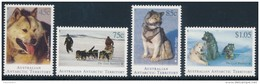 A.A.T. AUSTRALIAN ANTARCTIC TERRITORY 1994 HUSKIES SG 104-107 Set Of 4 [MNH] - Unused Stamps