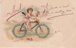 1 Er AVRIL. Je Pense à Vous. Enfant, Vélo - Erster April