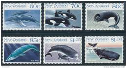 ROSS DEPENDENCY 1988 Antarctic Whales In New Zealand Set Of 6v** - Nuovi
