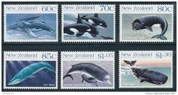 ROSS DEPENDENCY 1988 Antarctic Whales In New Zealand Set Of 6v** - Dipendenza Di Ross (Nuova Zelanda)