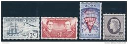 ROSS DEPENDENCY 1967 Decimal Currency Set Of 4v** - Ross Dependency (New Zealand)