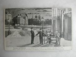 THEATRE - Théâtre Du Châtelet - Les Pirates De La Savane - 1er Tableau - Un Quai De La Cité - Théâtre