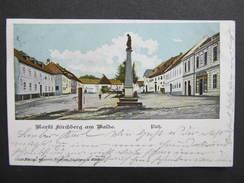 AK KIRCHBERG Am Walde B. Gmünd 1901 // D*22972 - Gmünd