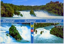 Rheinfall - Schweiz - Switzerland - 1067 - Formato Grande Viaggiata – E1 - Autres