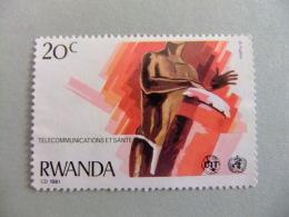 RWANDA REPUBLIQUE RWANDAISE 1981 MUSICO De TAM TAM Yvert Nº 1008 Nuevo - Rwanda