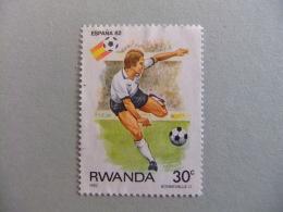 RWANDA REPUBLIQUE RWANDAISE 1982 ESPAÑA 82 Yvert Nº 1060 Nuevo - Rwanda