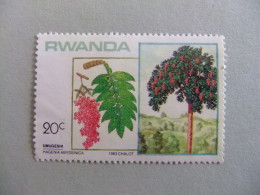 RWANDA REPUBLIQUE RWANDAISE 1984 ARBOL  Yvert Nº 1125 Nuevo - Rwanda