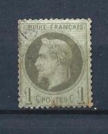 FR60) 1863-69 Effigie Napoleone Con Alloro 1cent.  Used Unif.n 25 - 1863-1870 Napoleone III Con Gli Allori