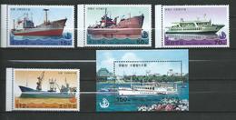 "North Korea 2003 Ships.stamps And S/S.""Pyongyang No. 1"".MNH - Corée Du Nord"