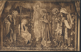 °°° 2006 - UK - OXFORD - EXETER COLLEGE TAPESTRY - THE ADORATION OF THE MAGI - 1929  With Stamps°°° - Oxford