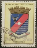 MADAGASCAR 1963 State Crest. USADO - USED. - Madagascar (1960-...)