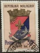 MADAGASCAR 1974 Previous Issue Surcharged. USADO - USED. - Madagascar (1960-...)