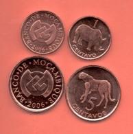 MOZAMBIQUE -  1 + 5  Centavos  **OFERTA** - Mozambique