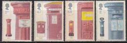 4v First Pillar Box 2002 MNH, Postbox, Letterbox, Phialately, Post Box, Letter Box, Postal History, Great Britian - 1952-.... (Elizabeth II)