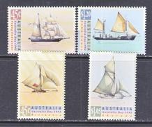 AUSTRALIA  1249-52  **  SAILING  SHIPS - 1990-99 Elizabeth II