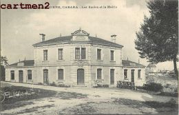 CABARA ENVIRONS DE LIBOURNE ECOLES ET MAIRIE 33 GIRONDE - France