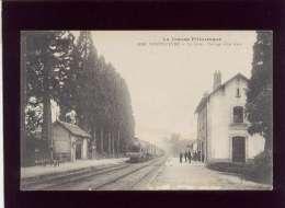23 Sainte Feyre La Gare Passage D'un Train édit. PM La Creuse Pittoresque N° 2026 - Autres Communes